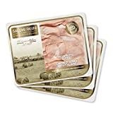 Prosciutto Cotto Affettato Salumi Pasini® | 3 Vaschette Preaffettato | 90 gr cad. | 100% Italiano | Senza Glutine e Lattosio | Linea 'I Classici'
