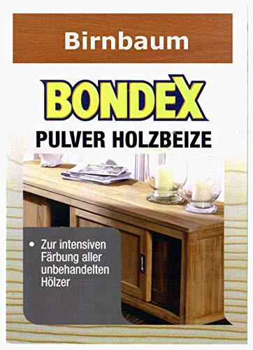 Bondex Holzbeize Pulverbeize Beutelbeize Beize auf Wasserbasis für Möbel 5er Pack - birnbaum