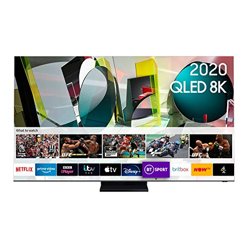 Samsung 2020 85' Q950T Flagship QLED 8K HDR 4000 Smart TV with Tizen OS