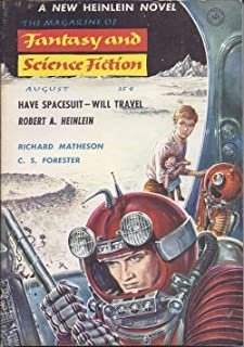 The Magazine of FANTASY AND SCIENCE FICTION (F&SF): August, Aug. 1958 (
