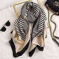 スカーフ 女性春スカーフコットンハイジャブショールプリントビーチヘッドバンドFoulardスカーフ女性のスカーフ 暖かいスカーフ (Color : 21, Size : ONE SIZE)