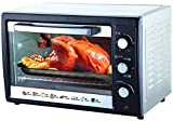 BOS & SARINO 35L Convection Rotisserie BBQ Bench Top Portable Oven