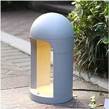 ZWYJXL Pillar Light High Pole Light Floor Lamp Modern Waterproof Outdoor Lawn Light Garden Villa Led Landscape Patio Acrylic Stigma Light Park Street Light,3 Size (Color : A, Size : 80cm)