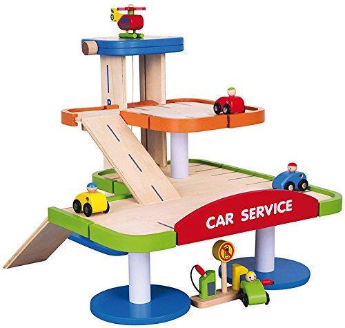 Viga Toys - 59690 - Jouet De Premier Age - Garage Parking À Étages