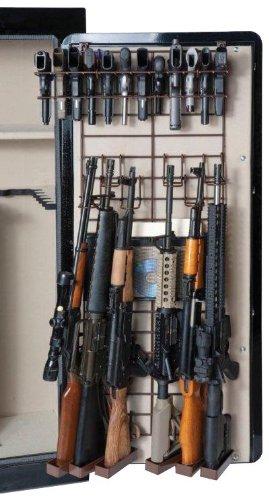 Rack'Em The Maximizer 6 Rifle / 22 Pistol In-Safe Gun Rack (Full Door)