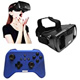 Lefant 3D VR Virtual Reality Immersive IMAX 360 View Google Cardboard Headset Adjustable Strap + Handheld Gaming Controller
