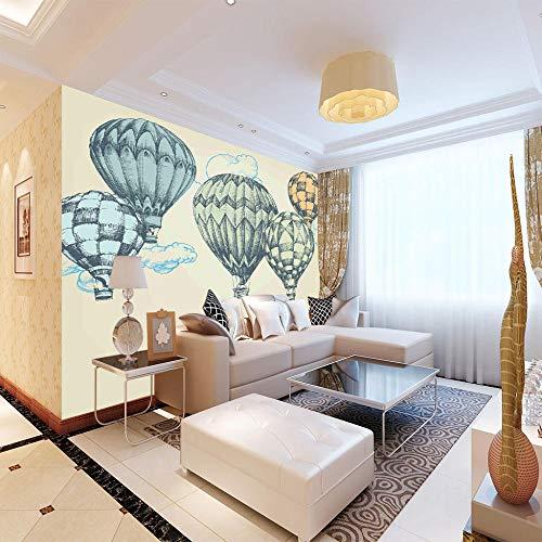 Murimage Fotobehang, zelfklevend, voor woonkamer, slaapkamer, kantoor, hal, decoratie, kunstdruk, ballon 150CMx100CM