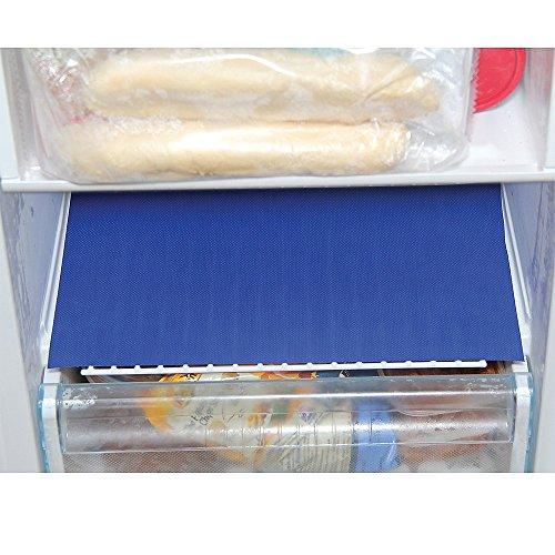Frostmatten von Freezer Liner, 2 Stück Verhindert die Ansammlung von Frost und Eis in Ihrem Gefrierschrank.