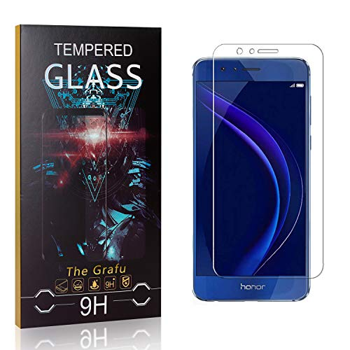 Lowest Prices! The Grafu Screen Protector for Huawei Honor 8, 9H Hardness, High Transparency, Anti S...