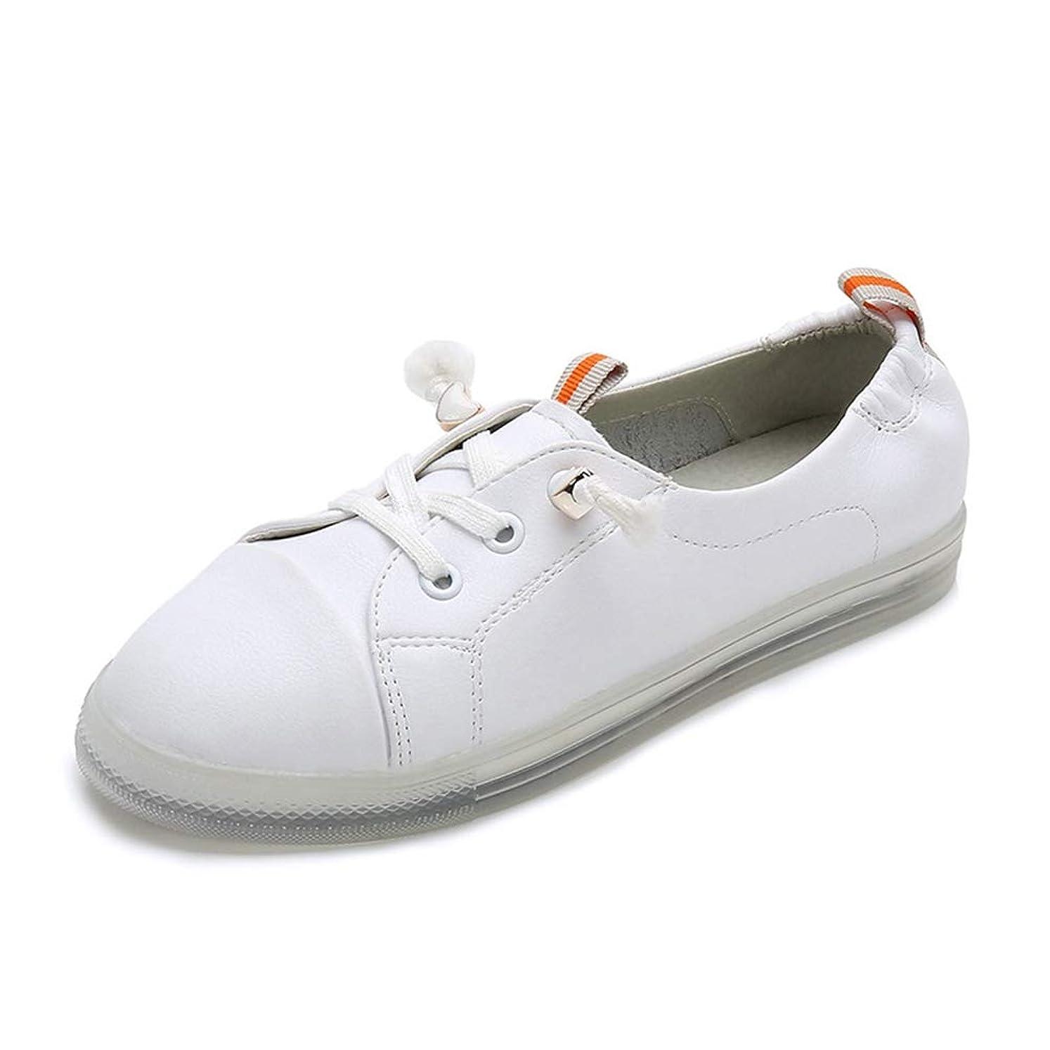 露出度の高い伝記スクリューぺたんこ フラットシューズ レディース スリッポン レザー 柔軟性 シンプル 学生靴 通勤靴 事務 散歩 トラベル スニーカー 痛くない ミッドカット 履きやすい カジュアル 白