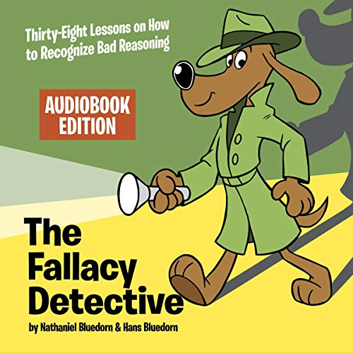 The Fallacy Detective audiobook cover art