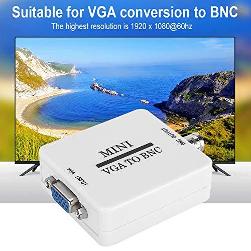 Surebuy Adaptador convertidor de Video 1920 X 1080, para Monitor HDTV