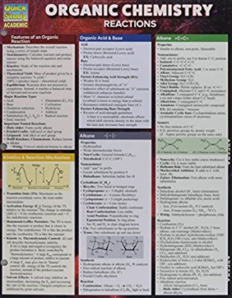 Organic Chemistry Reactions by Inc. BarCharts (2015-12-01)