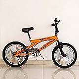 GASLIKE Bicicleta BMX de 20 Pulgadas, Bicicleta de acción de Truco BMX, Adecuado para Principiantes a Nivel avanzado de Rayas de Calle BMX Bikes BMX,B