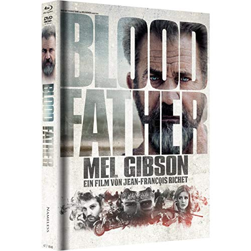Blood Father - Mediabook - Cover B Weiss - Limited Edition auf 333 Stück (+ DVD) [Blu-ray]