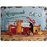 Cartel de Chapa 30x40 cmHomemade Marmalade