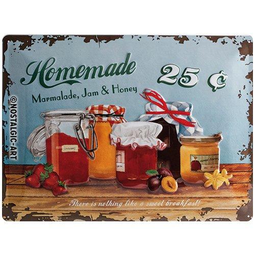 Nostalgic Art Blechschild, Metall, Bunt, 30x40