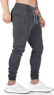 UUYUK Men Athletic Jogger Pants Drawstring Gym Workout Sport Pants Sweatpants