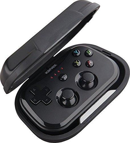 KANEX Goplay Sidekick Controller–Negro [Manejable | ergonómica | MFI Certificado | hasta 20Horas de Tiempo de batería, para iOS & MacOS | Hardcase con función de Soporte]–K184–1140