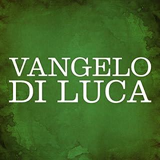 Vangelo di Luca copertina