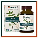 Himalaya USDA Neem Caplets | For Clear Skin, Acne & Pimple Remedy |