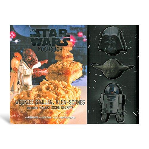 Star Wars Back- und Kochbuch 64 Seiten 30 Rezepte mit Darth Vader Yoda R2-D2 Backformen