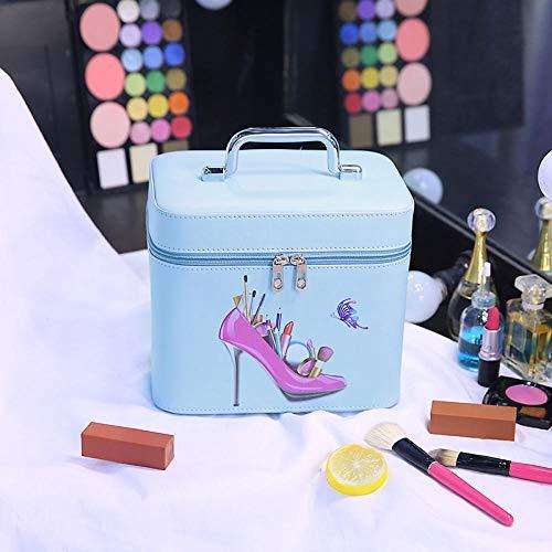 Sac à cosmétiques Grande capacité recevoir Sac Exquis Sac de Toilette Portable Simple Voyage 21 * 16 * 14cm / 24 * 20 * 16cm-Sky_Blue_L_24cm_20cm_16cm