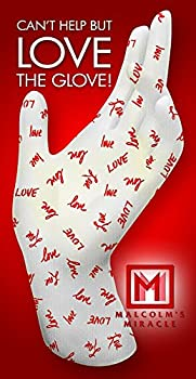 Malcolm s Miracle LOVE Moisturizing Gloves  Medium  - GUARANTEED for TWO YEARS - Made in the USA  Medium