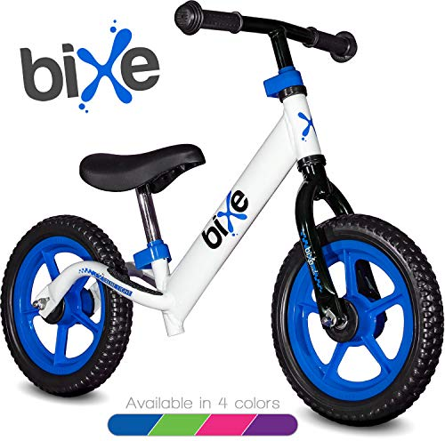 Blue (4LBS) Aluminum Balance Bike for Kids and Toddlers - 12' No Pedal Sport Training Bicycle for Children Ages 3,4,5