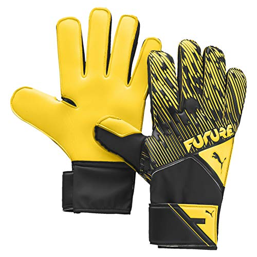 PUMA Unisex – Erwachsene Future Grip 5.4 RC Torwarthandschuhe, Ultra Yellow Black White, 8