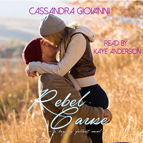 Rebel Cause audiobook cover art