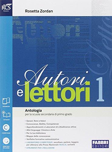 Autori e lettori. Quaderno-Traguardo. Per la Scuola media. Con e-book. Con espansione online. Mito e epica (Vol. 1)