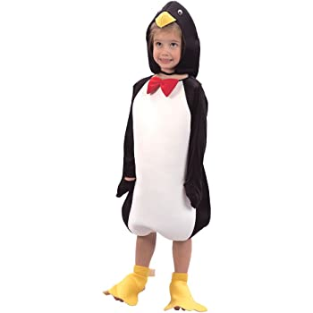Dress Up America Disfraz de pingüino Feliz para niños: Amazon.es ...