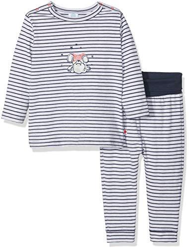 Sanetta Sanetta Baby-Jungen Pyjama Long Zweiteiliger Schlafanzug, Beige (Sand Melange 1952.0), 98