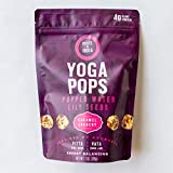 Yoga Pops - 3 Packs (Caramel Jaggery)   Popped Water Lily Seeds   Gluten Free   Paleo   Nut Free   Corn- Free   All Natural   Non-GMO Nutritious Super Snack
