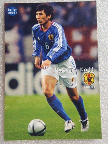 Calbee カルビー サッカーカード JAPAN NATIONAL TEAM CARD 2005 中田浩二