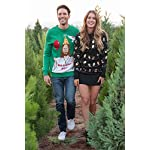 "Tipsy Elves Men's Ugly Christmas Sweater - Happy Birthday Jesus Sweater Green 13 ""****LAST CHANCE! Order Today and Save with our Lowest Priced Deals of the Holiday Season. While supplies last!****"" Tipsy Elves' ugly christmas sweaters are perfect for gifting to all of your friends but most importantly, yourself! Whether you're inside, outside, together or apart, or even stuck in a virtual meeting, whenever you rock your Tipsy Elves gear no one will ever doubt the ferocity of your festive fury. Tipsy Elves' hilariously ugly sweaters are a perfect gift this holiday season, why wait to share the love when you and your friends and family can make everyone laugh with one of our funny sweaters. Whether you're celebrating and matching in person or just catching up online, Tipsy Elves' hilarious holiday clothing will keep everyone looking cozy and warm!"