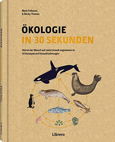 ÖKOLOGIE IN 30 SEKUNDEN: Warum der Mensch auf seine Umwelt angewiesen ist - 50 Konzepte und Herausforderungen