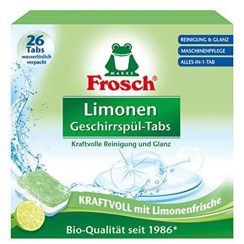 Frosch Limonen Geschirrspül-Tabs 26, 558 gramm
