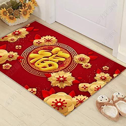 Miduo 3D-Druck, minimalistischer Wohnzimmer-Teppich, Schlafzimmer-Teppich, Kinder-Teppich, bedruckt, 1,60 x 90 cm