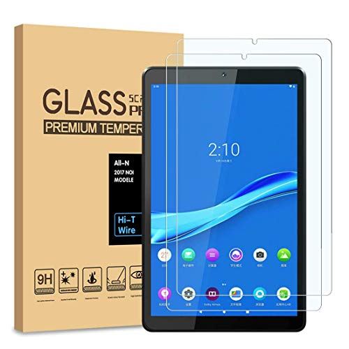 TECHSHIELD® Screen Protector Compatible with Lenovo Tab M10 Plus FHD 10.3 inch(2nd Gen) TB-X606V Tempered Glass Anti-Fingerprint HD Scratch Resistance Film