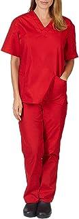 Hosen Pflege Set Medizin Arzt Uniform Berufsbekleidung Krankenschwester Kleidung Damen Uniformen Oberteil Tasche Zilosconcy Arbeitskleidung Unisex Kurzarm T-Shirts V-Ausschnitt
