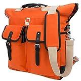 Phlox Backpack + Tote + Shoulder Bag for up to 15.6 inch Laptops and Tablets - Orange