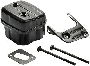 Ineedtech Muffler with Bracket Bolt Screw Kit for Husqvarna 340 350 346 346XP 350 351 353 Chainsaw, Replaces OEM 544028302 503862703