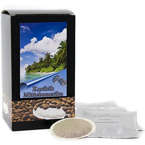 C&T Premium Kaffeepads Länderkaffee Mittelamerika (Nicaragua) 30 Stück | Pads für Senseo Kaffeemaschine | Wenig Säure | Ausgewogener Körper | Schokoladig | Schonend geröstet in eigener Privatrösterei