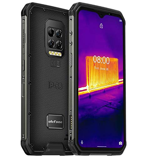 "(2019) Ulefone Armor 6E – Android 9.0 Smartphone Rugged 4G,Helio P70 Octa-core Outdoor Cellulare 4 GB + 64 GB, 6,2"" FHD + Schemo Notch, ricarica wireless supportata, impermeabile IP68, GPS/NFC Rosso"
