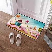 ドアマット3D印刷エリアマットバスラグカーペットリビングルームベッドルームキッチン居心地の良いカーペットホワイトバスルームマットリビングルームラグマットエリアマットクリスマスイブハロウィーン