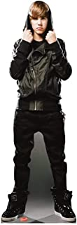 Star Cutouts, Justin Bieber My World, Life-Size Cardboard Cutout Standup - 69 x 25 inches