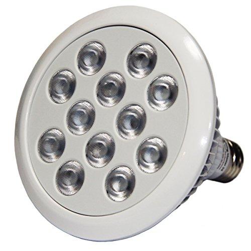 【1年保証付】浅場ミドリイシ育成専用 フルスペクトル 超高輝度LEDランプ Lighting Master 24VP【リーフブルー】17,000K 24W型 特殊UV & Cyan搭載 アクアリウム BRS