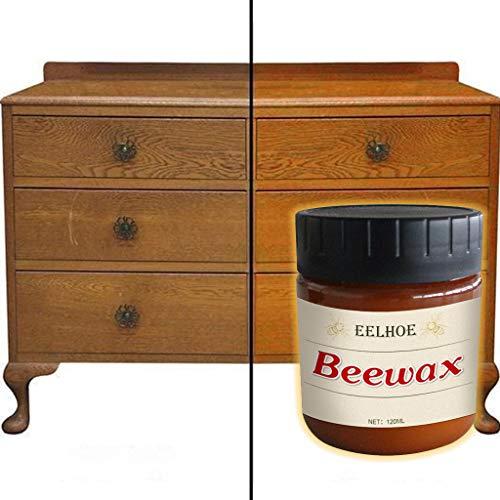 Luccase 120ml Möbelpflege Bienenwachs Pflegemittel Bienenwachs Komplettlösung Möbelwachs Bienenwachs Möbelpflege Polieren Möbelreinigung Reparaturwachs